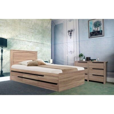 Maley Luxurious Full Platform Bed