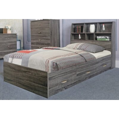 Doering Luxurious Storage Platform Bed Size: Twin