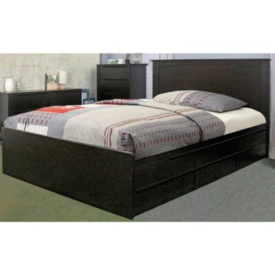 Drinnon Deluxe Storage Platform Bed Size: Twin