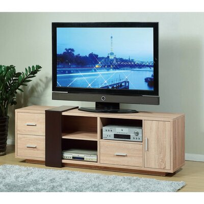 Dolloff Splendid 70.75'' TV Stand with Decorative Panel