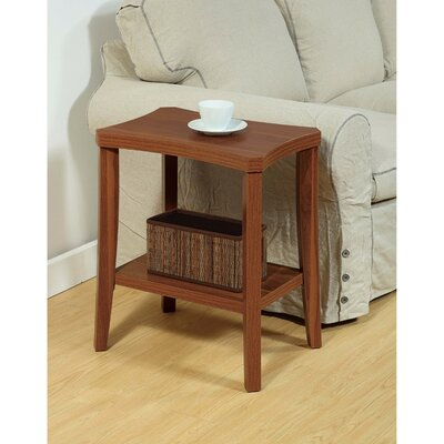 Chastain End Table with Curved Top