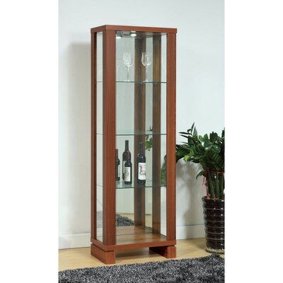 Lampner Enchanting See Through Curio Cabinet