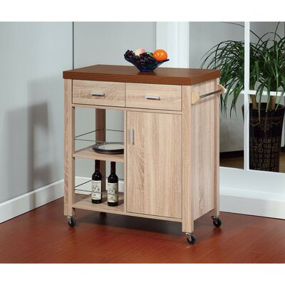 Lemire Storage Kitchen Cart