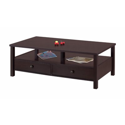 Mautte Simply Sophisticated Coffee Table with Spacious Storage