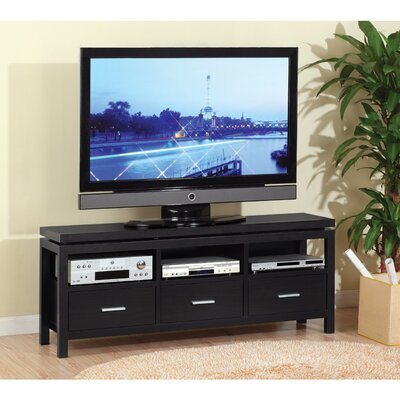 Donis Contemporary 60 TV Stand with Open Shelves