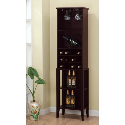 Rumsey Elegant 12 Bottle Floor Wine Rack