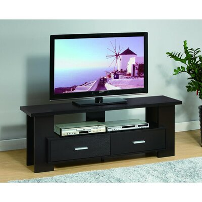 Donmoyer Captivating 60 TV Stand with Wide Bar Shelf