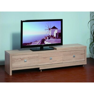 Donner 95 TV Stand with Three Storage Drawers