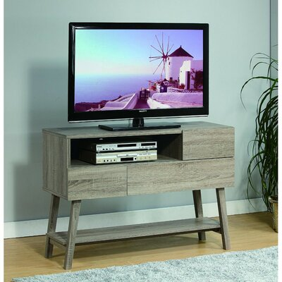 Clow Wooden 47.25 TV Stand with Flared Leg Support