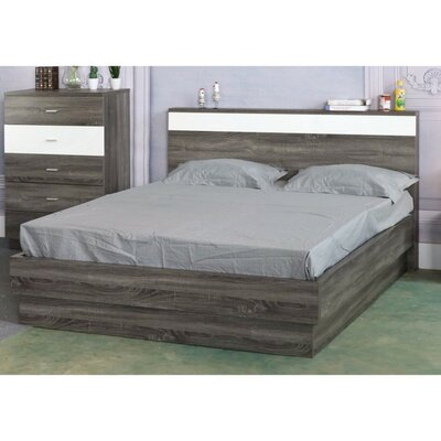 Clower Queen Platform Bed