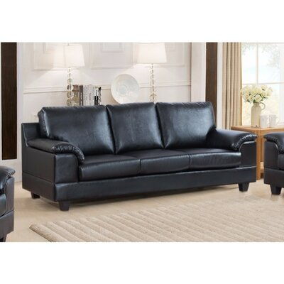 Driggers Contemporary Style Sofa with Velvety Arm Rest