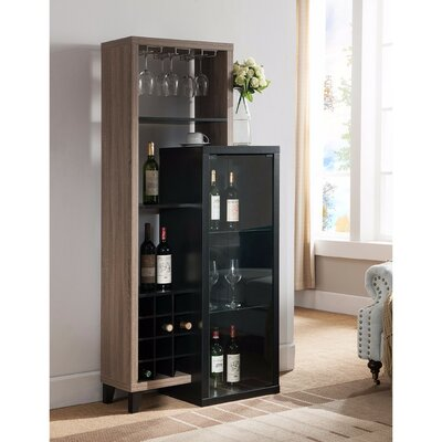 Duckworth Uniquely 12 Bottle Floor Wine Rack