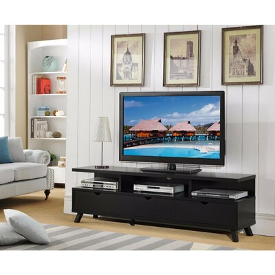Duell Wide 70.75 TV Stand with Multiple Storage