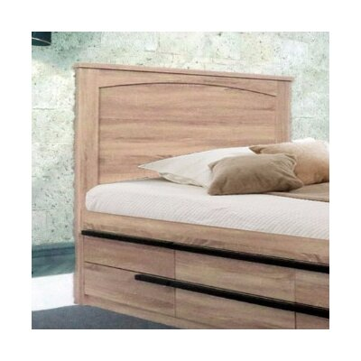 Dockins Luxurious Panel Headboard Size: Twin, Color: Brown