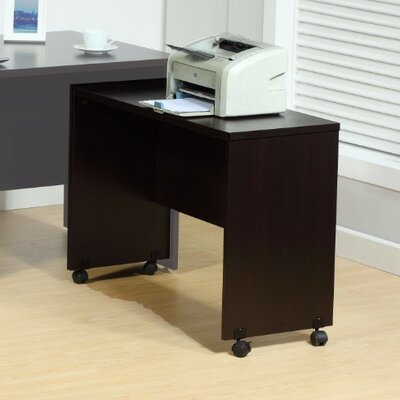 Beaulieu Stylish 27 H x 37 W Desk Return Finish: Dark Brown