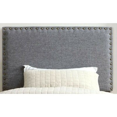 Fabio Panel Upholstered Headboard Size: Full/Queen, Color: Gray