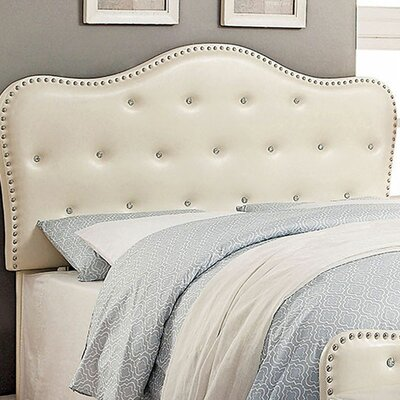 Carcassonne Panel Headboard Color: Ivory, Size: 50 H x 3.25 W x 47 D