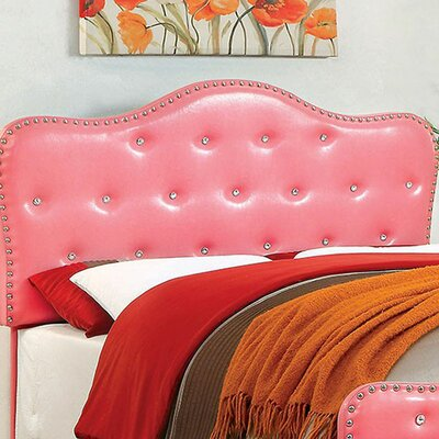 Carcassonne Panel Headboard Color: Pink, Size: 53.5 H x 3.25 W x 67.25 D
