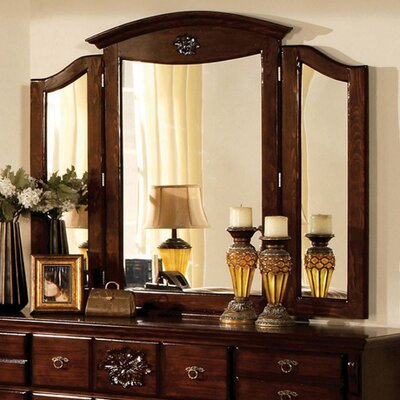Basche Traditional Style Accent Mirror