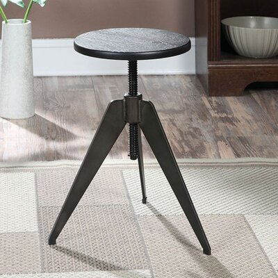 Homewood Adjustable Height Swivel Bar Stool