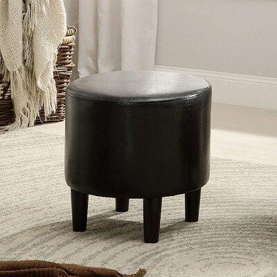 Capobianco Ottoman Upholstery: Black