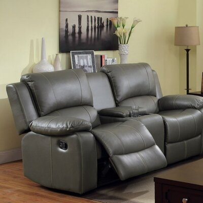 Rittenberry Leather Loveseat