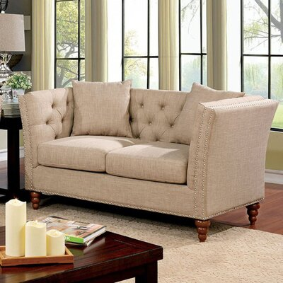 Carlock Contemporary Loveseat