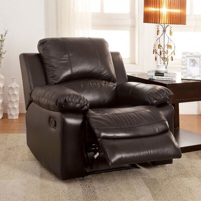 Rifat Leather Standard Rocker Recliner