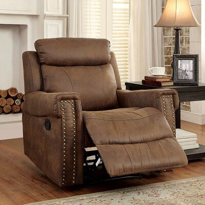 Toia Transitional Manual Rocker Recliner