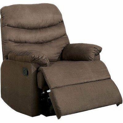 Rodden Manual Rocker Recliner Upholstery: Brown