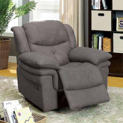 Roden Manual Recliner Upholstery: Graphite