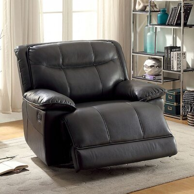 Roder Glider Recliner Upholstery: Gray