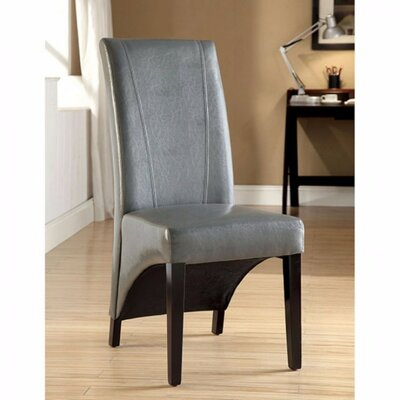 Rodrigues Upholstered Dining Chair Upholstery Color: Gray