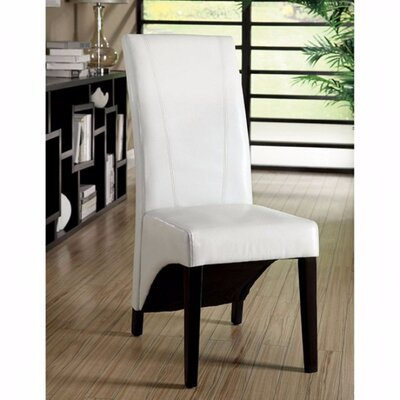 Rodrigue Dining Chair Upholstery Color: White