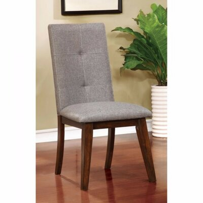 Leithgow Modern Dining Chair Upholstery Color: Walnut