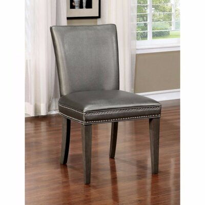 Winifred Nailhead Trim Solid Wood Dining Chair