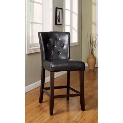 Anusha Transitional Leather Upholstered Dining Chair