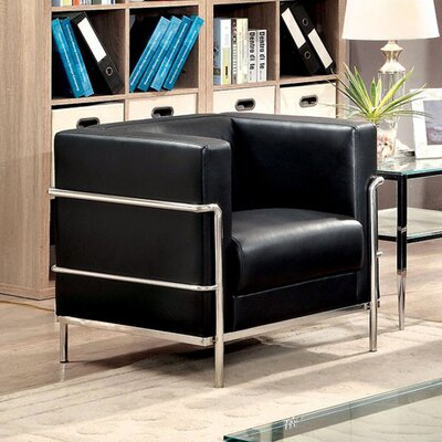 Millers Barrel Chair Upholstery: Black