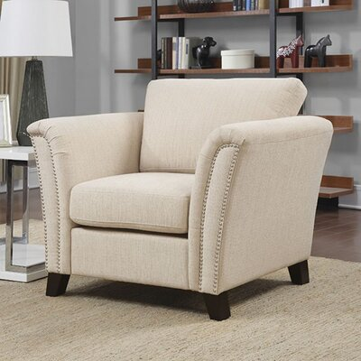 Raffinel Armchair Upholstery: Ivory