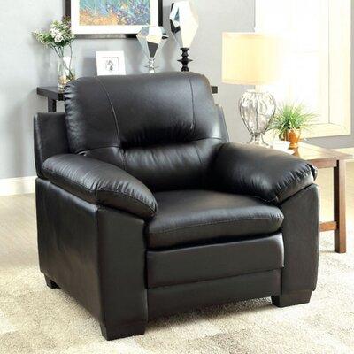 Robinett Armchair Upholstery: Black