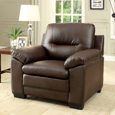 Robinett Armchair Upholstery: Brown