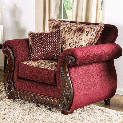 Dahlin Armchair Upholstery: Wine