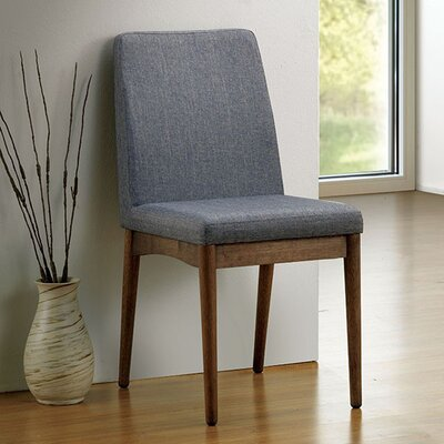 Hutton Mid-Century Solid Wood Dining Chair