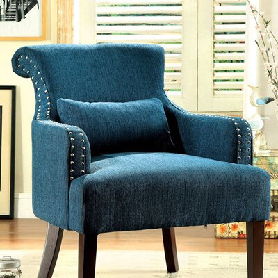 Donte Armchair Upholstery: Teal