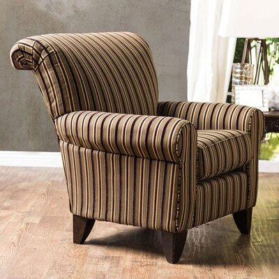 Dahlen Stripes Wingback Chair