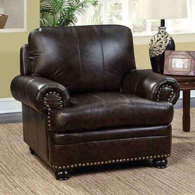 Ber Leather Club Chair