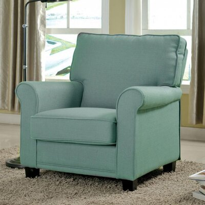 Russell Arm Chair Upholstery: Blue