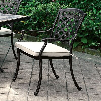 Dallas Transitional Metal Dining Chair