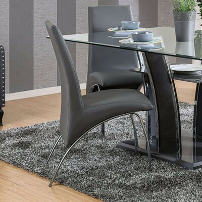 Mira Monte Steel Tube Solid Wood Dining Chair