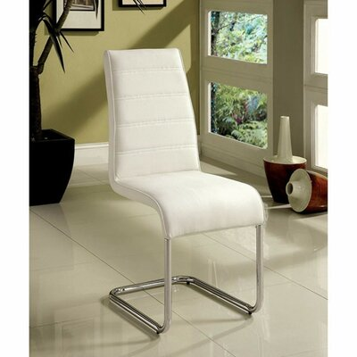 Ballyrashane Dining Chair Upholstery: White